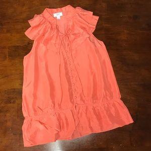 Anne Taylor LOFT silk blouse